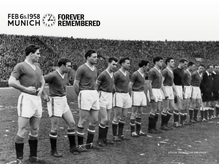 #BusbyBabes #TheFlowersOfManchester Feb 6 1958 MUNICH FOREVER REMEMBERED