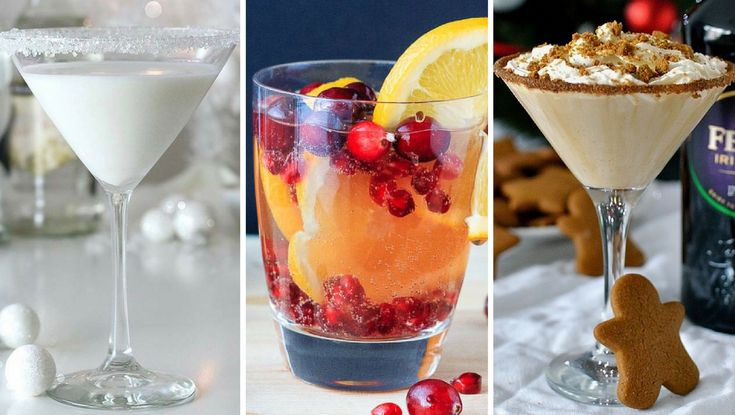 NEW: Festive Cocktails to Make this Christmas