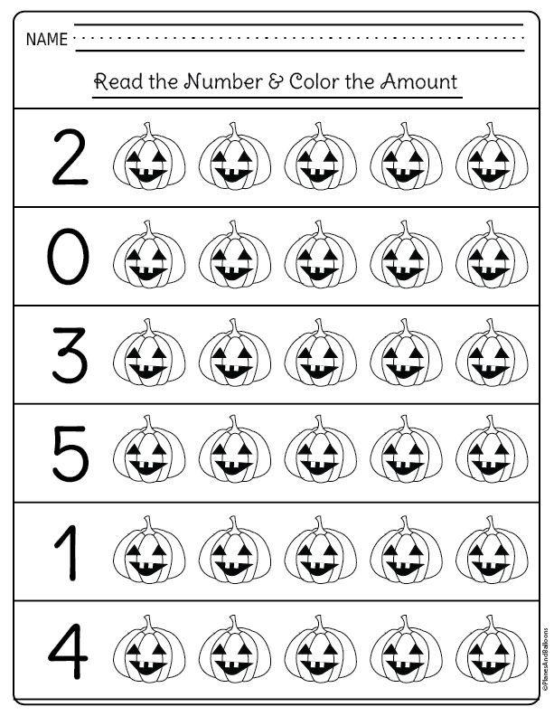 Kindergarten Halloween Worksheets Free Printable Pdf Halloween Kindergarten Halloween Worksheets Halloween Preschool Halloween worksheets for preschoolers
