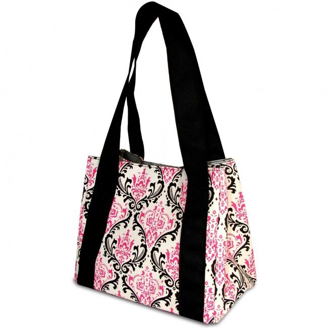 Trade your boring brown bag for this stylish designer lunch bag! It's well insulated and includes a reusable chiller pack, so your food will stay fresh until break time.