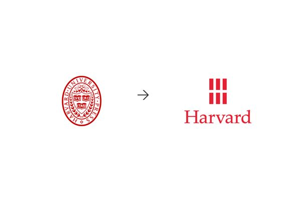 Harvard University Press by Chermayeff & Geismar & Haviv, via Behance