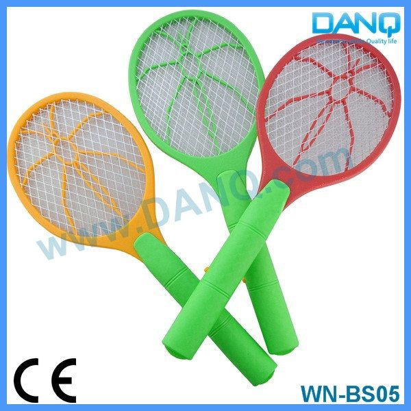 Three layers bug zapper, mosquito swatter, mosquito racket with CE-EMC