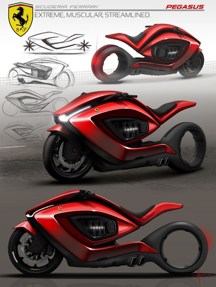 Ferrari Motorcycle Concept at http://www.mybikermatch.com ...