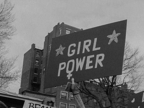 feminism, girl, and women kép