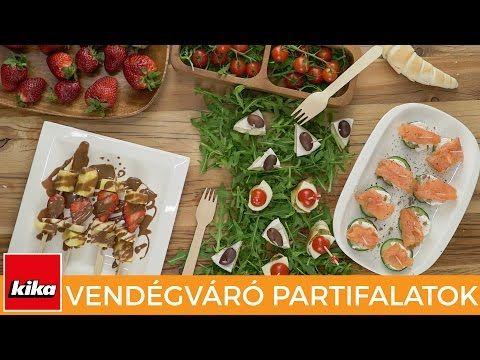 4 egyszerű recept Vendégváró Partyfalatokhoz | Kika Magyarország - YouTube