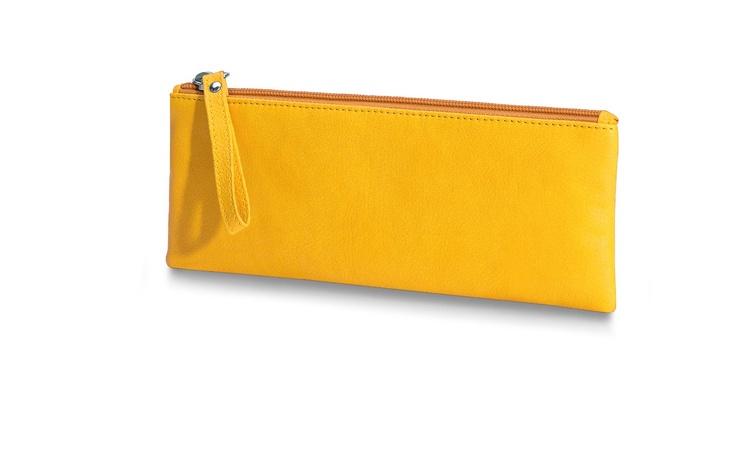 Giorgio Fedon Charme Yellow Bag