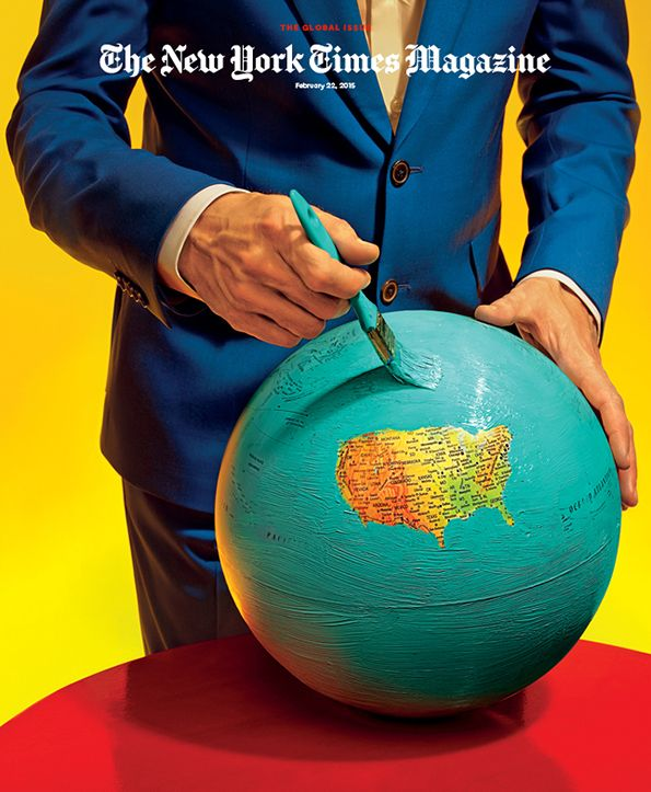 Maurizio Cattelan and Pierpaolo Ferrari: The New York Times Magazine cover