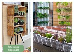 Grandes ideas para pequeños balcones.