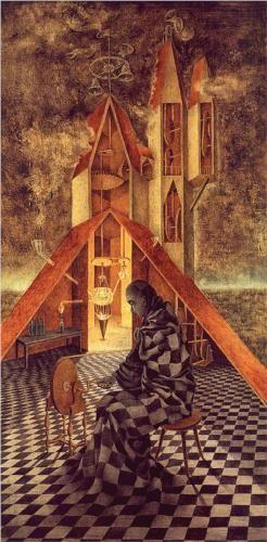 Remedios Varo - Alchemy or the Useless Science [1958]