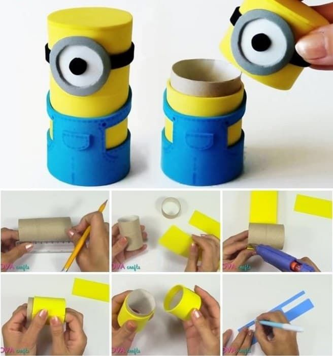 Despicable Me crafts | Minions birthday party | Minions party ideas