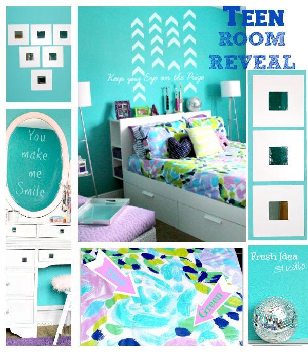 Teen Room Reveal  Decorating Tips  #FavoriteFinds #Teen #bedroom