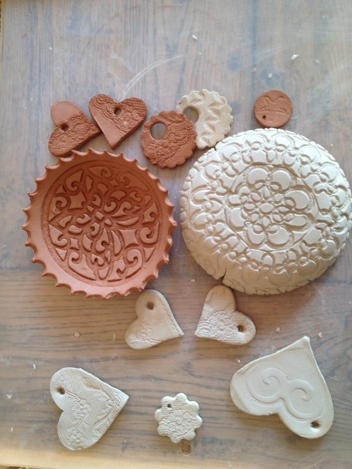 20 best images about das masa on pinterest baby hands for Air dry clay crafts