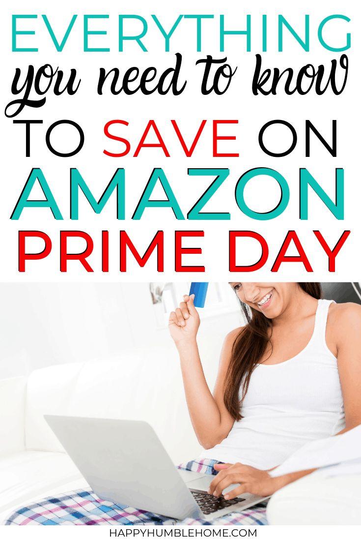 Save Money on Amazon Prime Day Amazon prime day, Saving