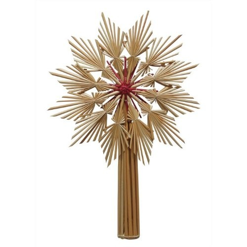 Christmas Straw Star Tree Topper Style