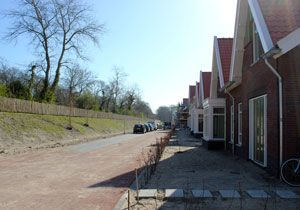 New Housing on care estate Duin en Bosch in Castricum are part of the landscape vision by Vollmer & Partners