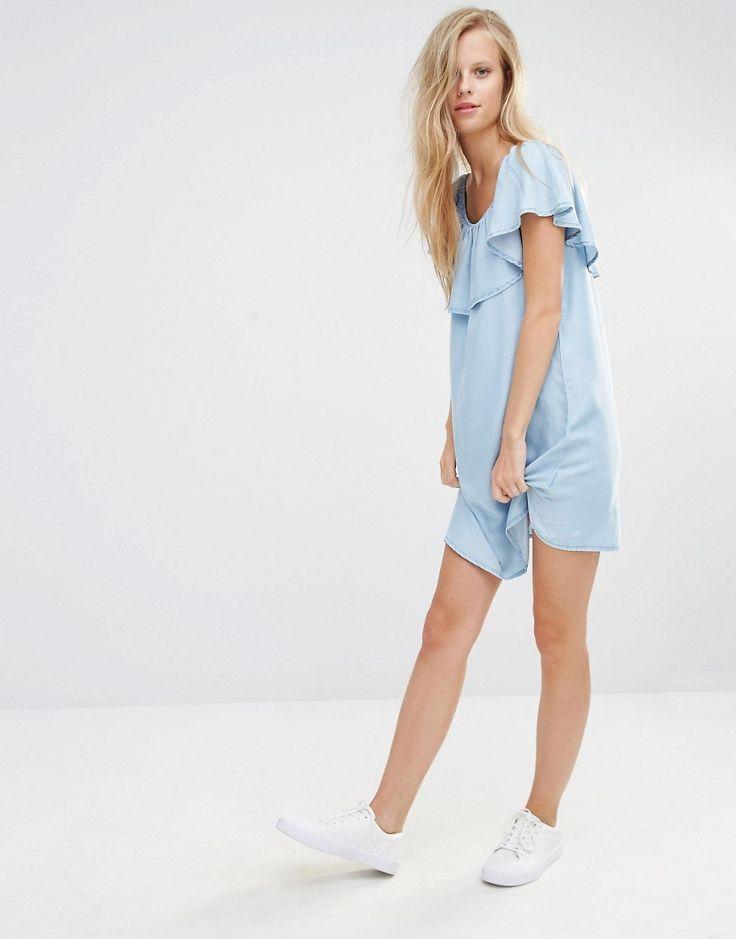 Pimkie Bardot Ruffle Dress
