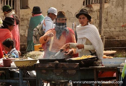 street food - Ecuador