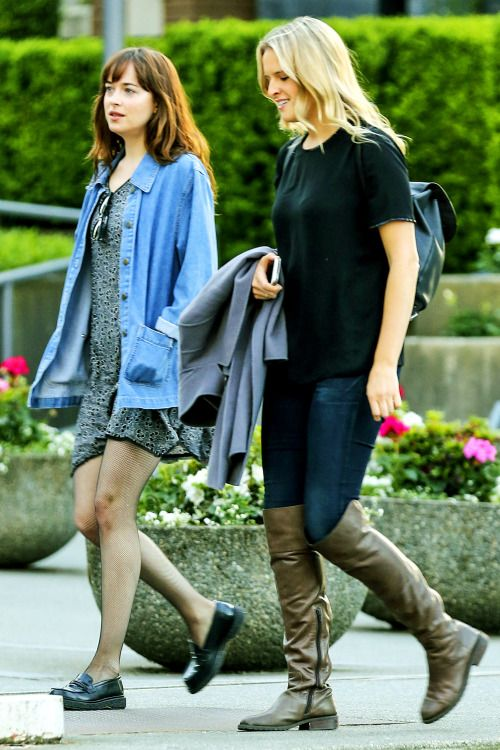 Dakota Johnson spotted out and about Vancouver - 9 May 2016 Click on for more…