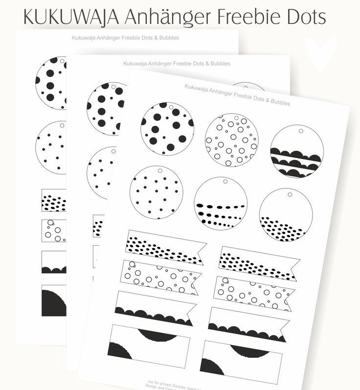 kukuwaja Freebies über kukuwaja.blogspot.de #kukuwaja #freebie #kostenlosesdownload #anhänger #papieranhänger #tags #etikett #dots #stripes #download #forfree #easter #ostern #kukuwaja