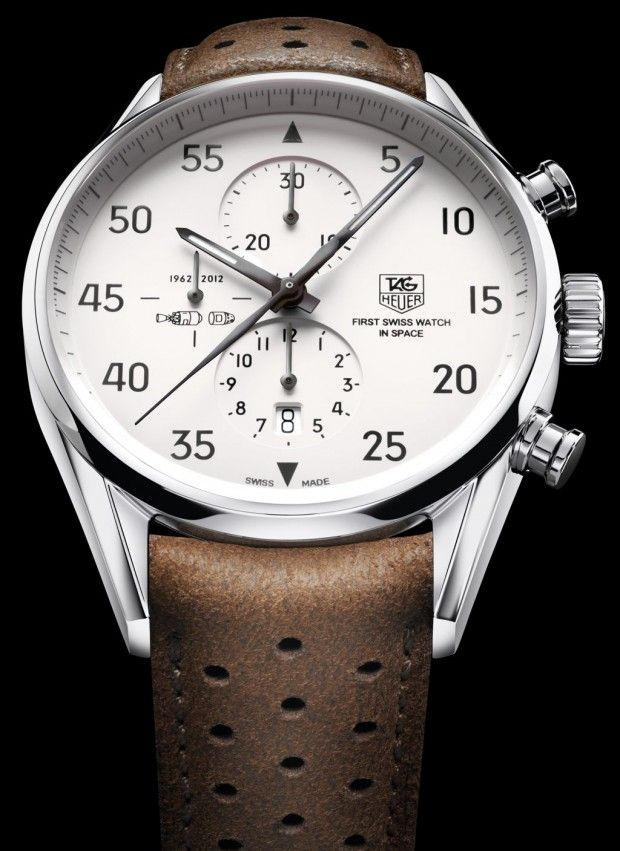 """TAG Heuer Carrera 1887 """"SpaceX"""" Watch 