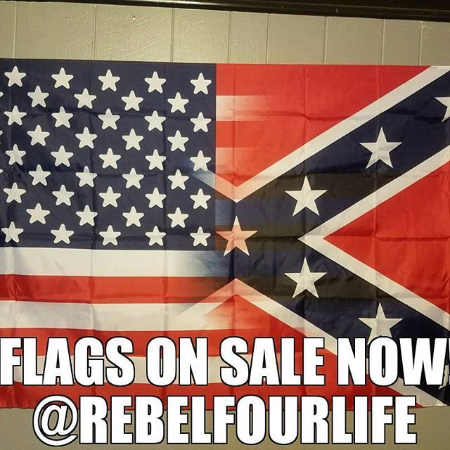 Has everybody seen the news ones? Hot damn aren't they gorgeous! Confederate flags for sale at www.rebelfourlife.com #confederateflag #merica #freedom #2ndamendment