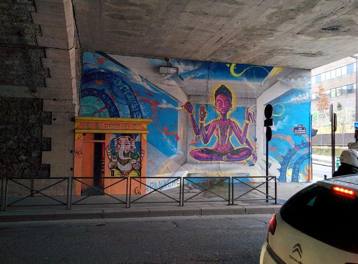 Poterne des Peupliers 1 2016/03/10 50 rue de la Poterne des Peupliers, 75013 Paris