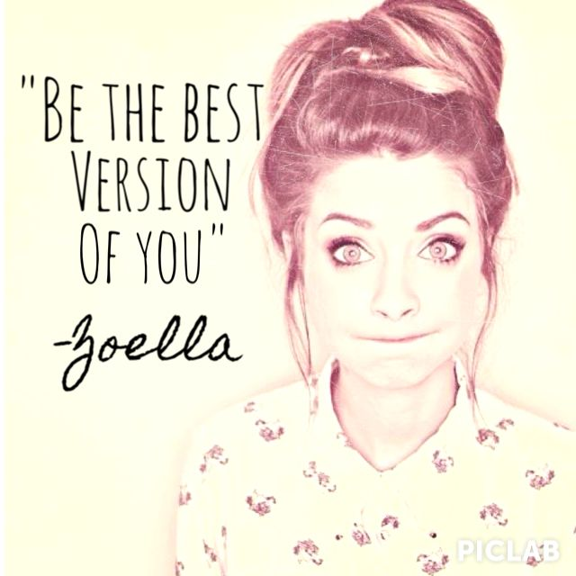 Zoe Sugg/ Zoella (YouTube and her book that came out, Girl Online.)