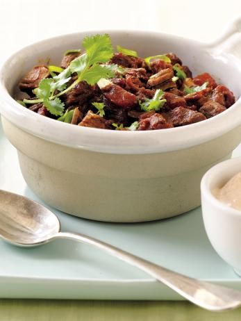 This meaty slow-cooker chili makes a great weeknight meal.