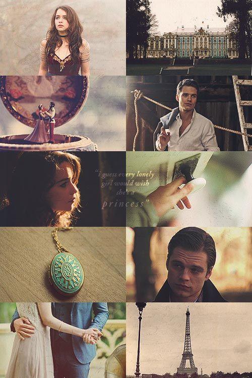 Anastasia dreamcasting ⟶ Sebastian Stan as Dimitri, Emilia Clarke as Anya
