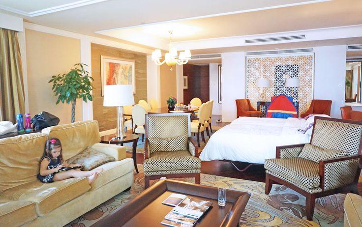 Ambassador suite living room - Four Seasons Hotel Macau