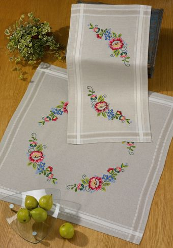 Printed Embroidery - Permin UK