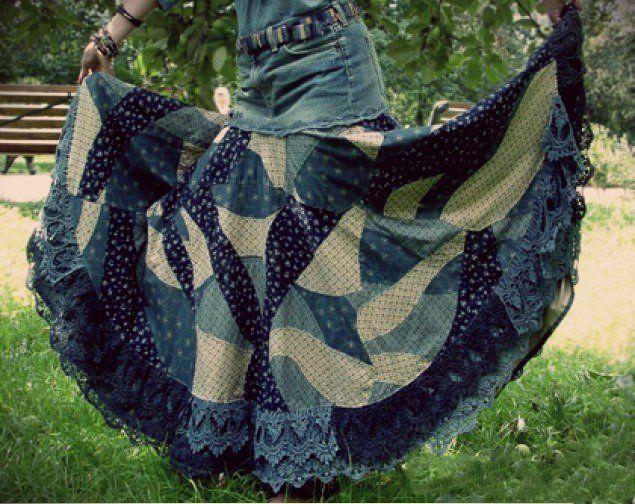 Выкройки бохо: одежда, юбка в стиле бохо для худых и ...