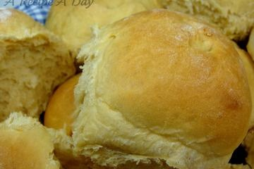 King's Hawaiian Bread copycat recipe.  (what better reason to always have pineapple juice on hand.)