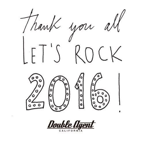 Have a great 2016! Let's rock it!