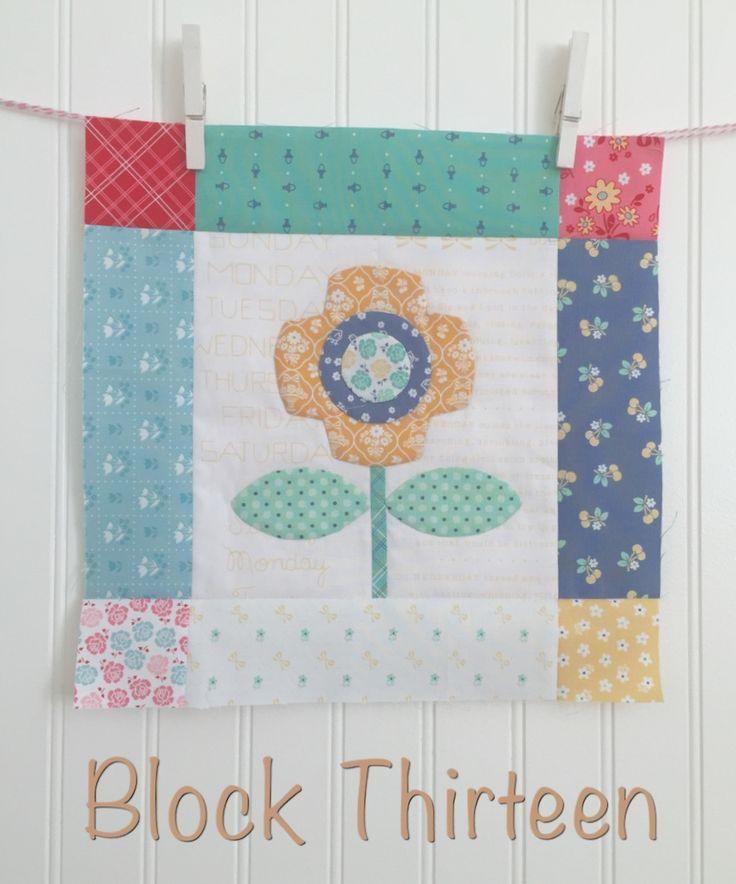 Bee In My Bonnet: BLOOM Sew Along - Week Thirteen - Block Thirteen!!