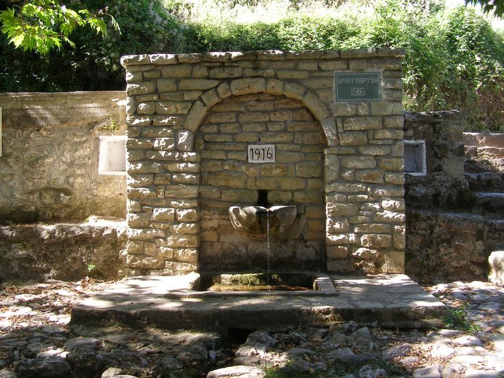 My great grandfather build this what a great memory if him - in dafnos Greece