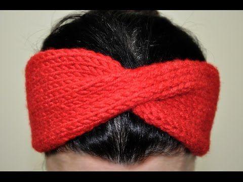 Örgüden Saç Bandı (Bandanası) Nasıl Yapılır? (Baştan Sona Anlatımlı) - YouTube