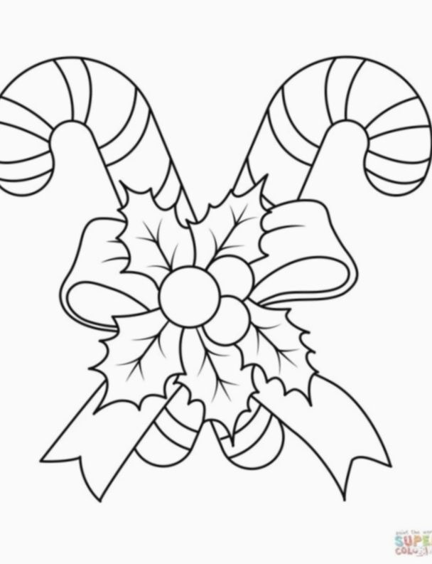 16 Christmas Candy Diy Free Printable Candy Coloring Pages Candy Cane Coloring Page Merry Christmas Coloring Pages
