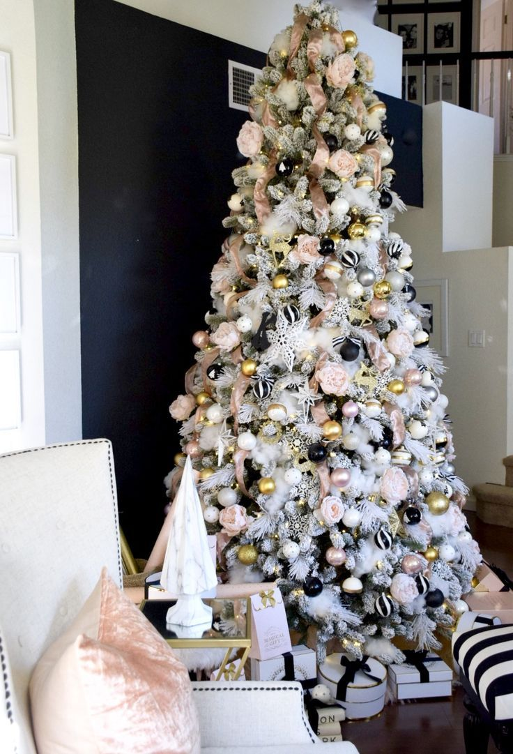 Modern Color For Christmas Tree Home Accents