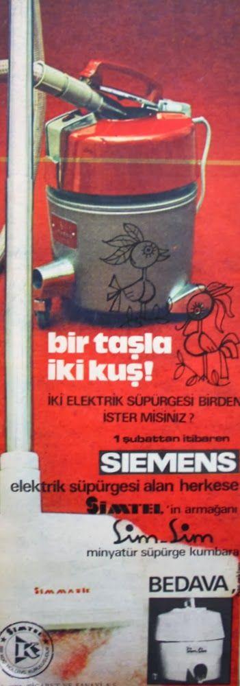 OĞUZ TOPOĞLU : siemens elektrik süpürgesi, simsim minyatür süpürg...