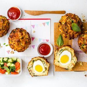 Egg Muffins with New Generation Eggs. www.newgenerationeggs.co.za