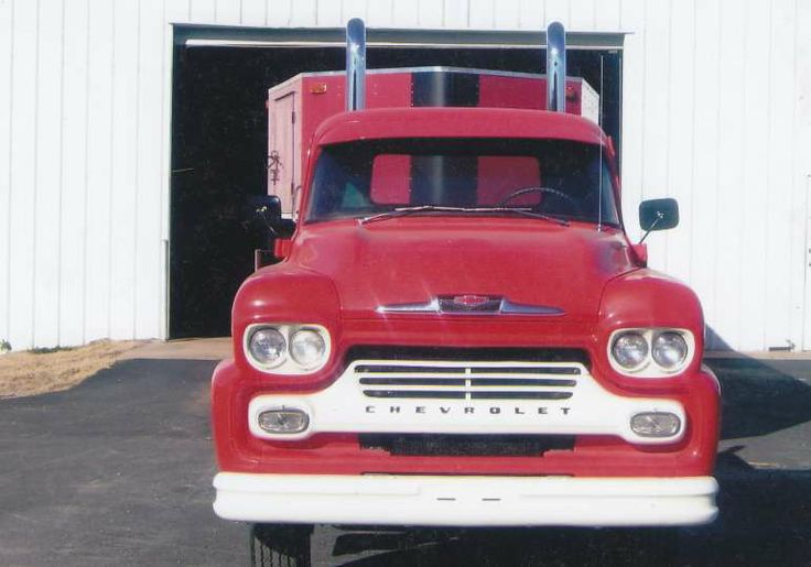 1958 Chevrolet 50 Series LCF 2-Ton Custom Truck for sale in Chickasha, Oklahoma