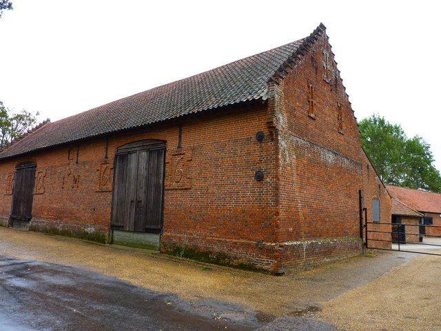 Red Brick Barn Farm Buildings Red Bricks Barn