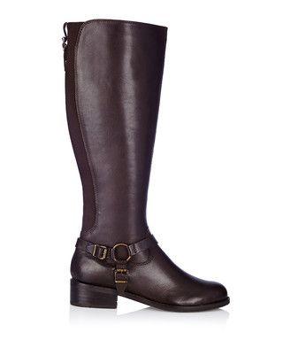 Petra chocolate leather boots Sale - Carvela Kurt Geiger Sale