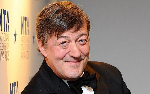 Stephen Fry. (Qi, A Bit Of Fry & Laurie)