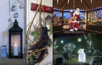Julepynt til have og indgangsparti