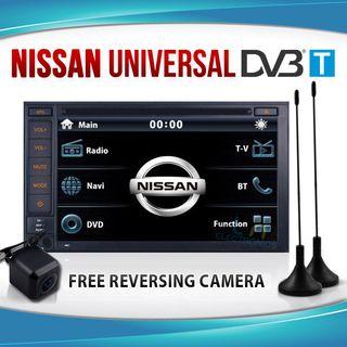 "Refurbished NISSAN 7"" In Dash CAR GPS DVD Player DVB-T TV Stereo IPOD TIIDA Pathfinder X-TRAIL Patrol"