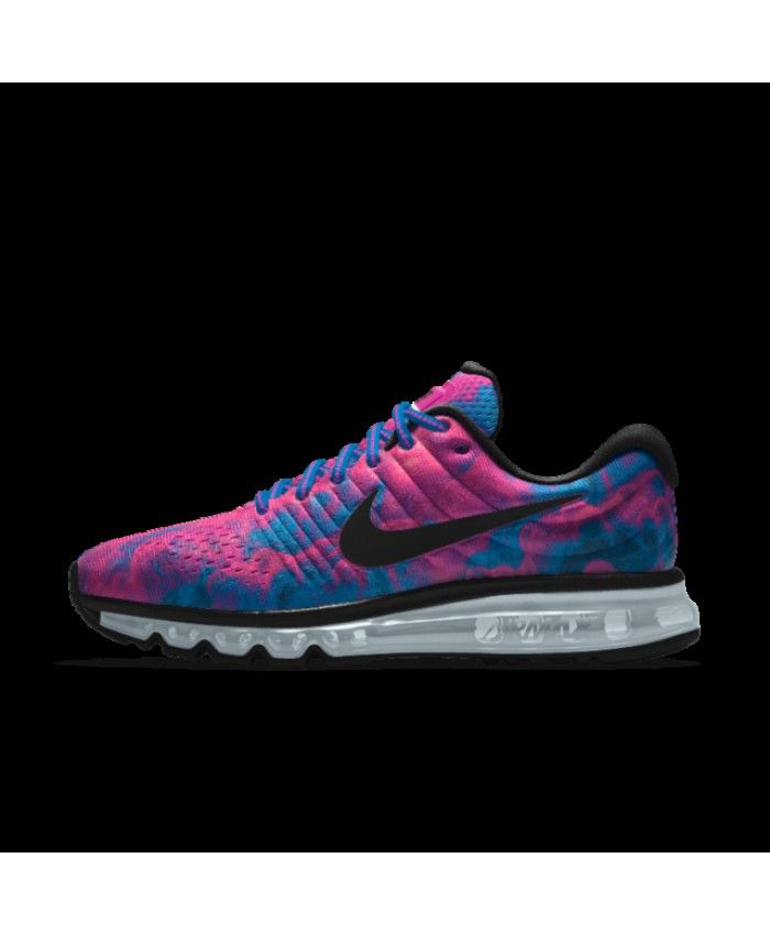 353a77aeb0ad Nike Air Max 2017 Womens Id Purple Blue Black Shoes Outlet