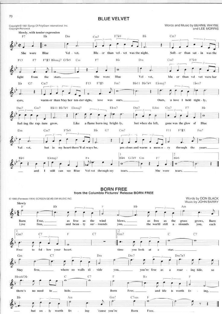 118 best Ballad Sheet Music images on Pinterest | Sheet music ...