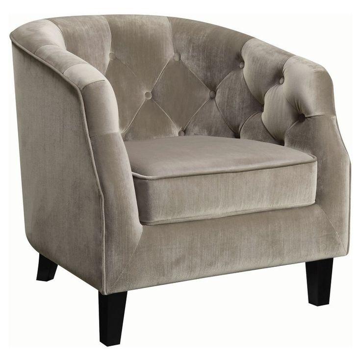 Coaster Furniture Hercules Barrel Chair Putty - 902710